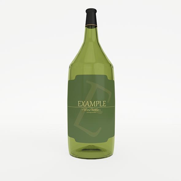 3DOcean Winebottle 10325097