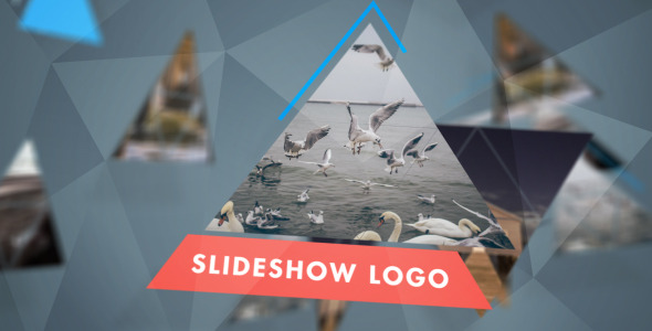 Triangular Mini Slideshow Logo Mix (Logo Stings)