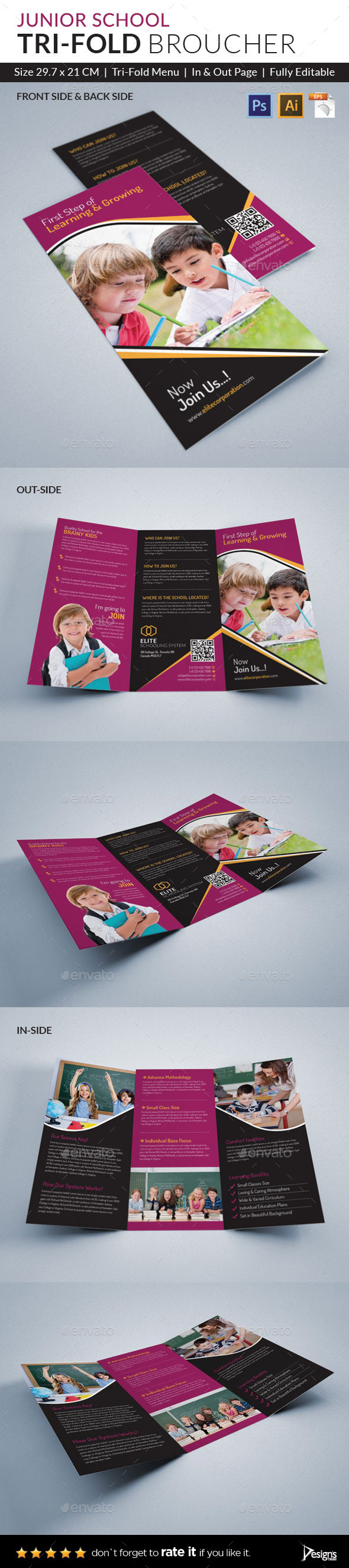 GraphicRiver Trifold Brochure 10325961