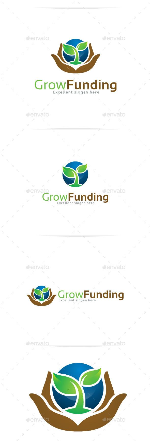 GraphicRiver Grow Funding Logo Templates 10326049