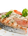 Salmon With Vegetables - PhotoDune Item for Sale
