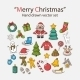 Vector Christmas Set - GraphicRiver Item for Sale