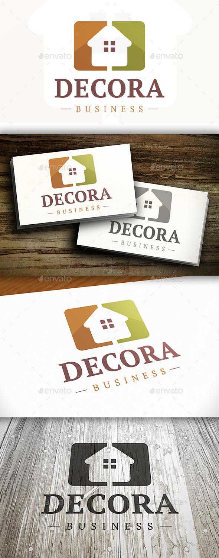 GraphicRiver Modern Home Logo 10326492