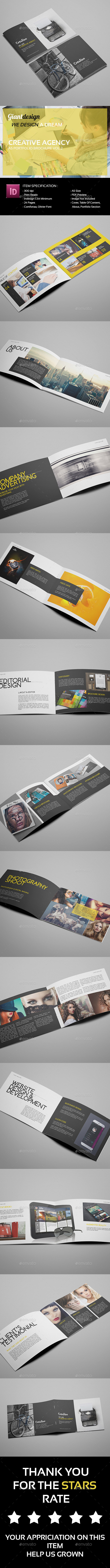 GraphicRiver Creative Agency A5 Portfolio Brochure Vol2 10326688