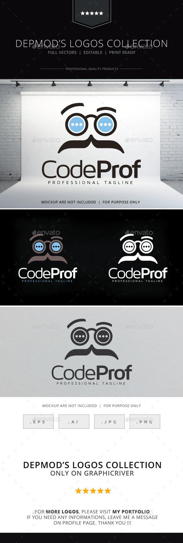 GraphicRiver Code Prof Logo 10327142