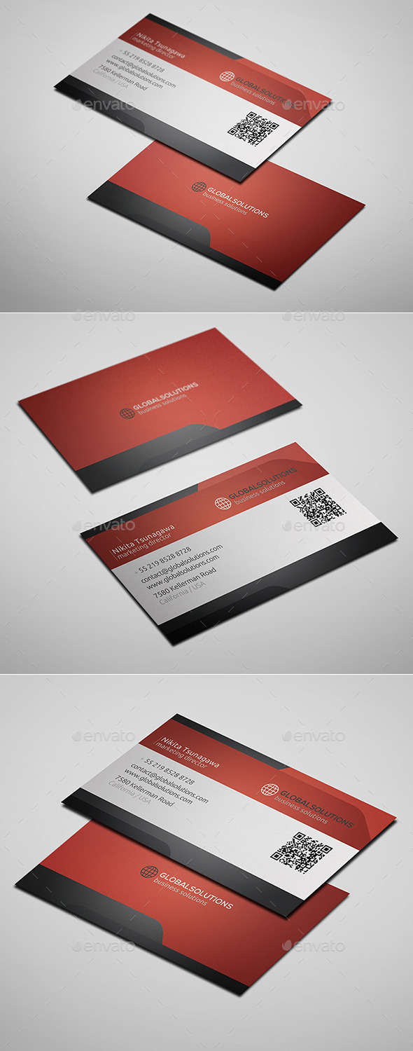 GraphicRiver Corporate Business Card 9 10327266