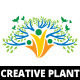Creative Plant Logo Template - GraphicRiver Item for Sale