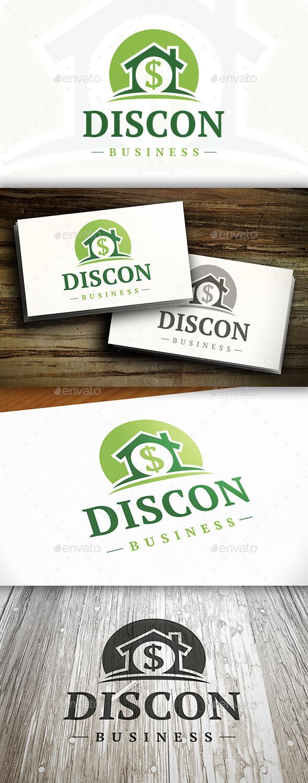 GraphicRiver Money House Logo 10327569