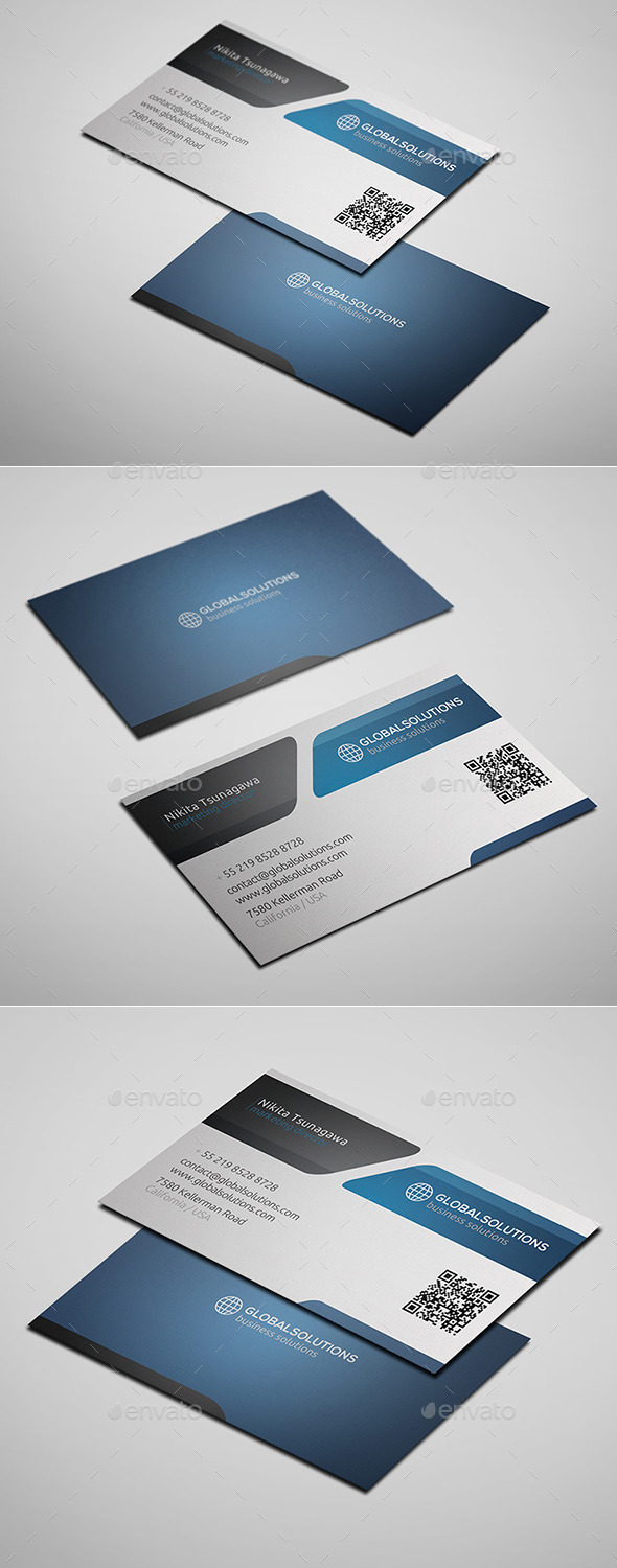 GraphicRiver Corporate Business Card 10 10327582