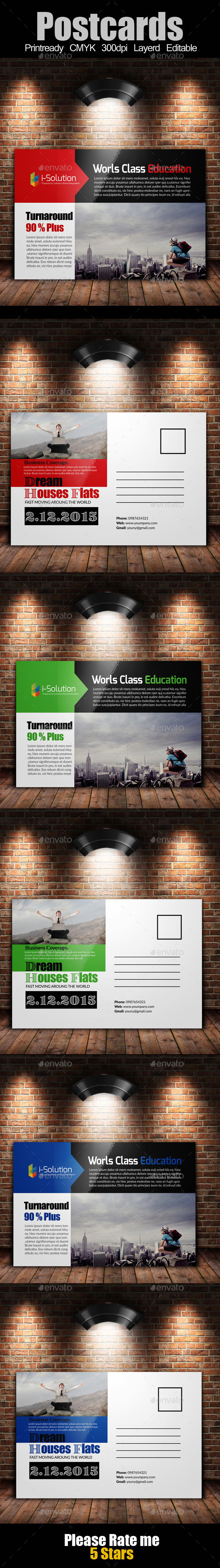 GraphicRiver Multi Use Business Post Cards 10327630