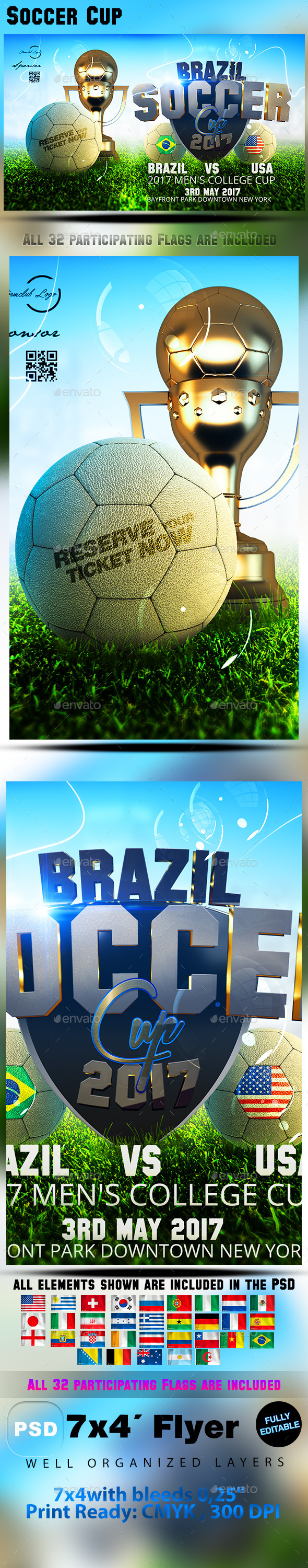 GraphicRiver Soccer Cup 10327637