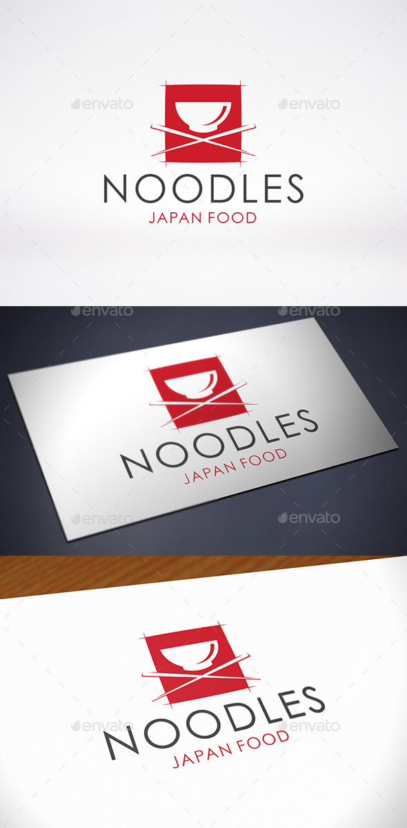 GraphicRiver Noodle Logo Template 10327703