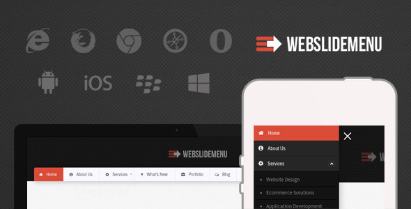 CodeCanyon Web Slide Off-Canvas Responsive Mega Menu 10328032