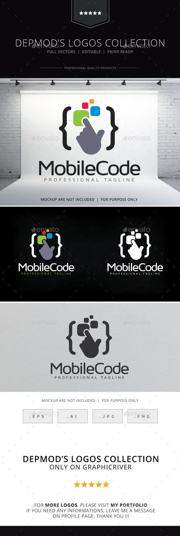 GraphicRiver Mobile Code V.02 Logo 10328195