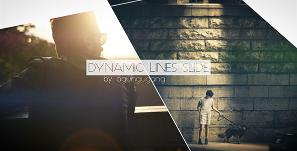 VideoHive Dynamic Lines Slide 10274950