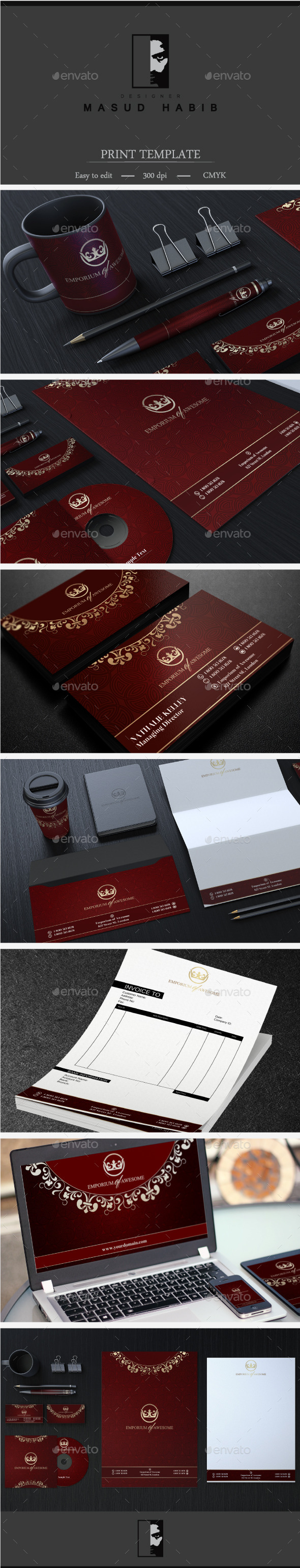 GraphicRiver Creative Corporate Identity 27 9321059