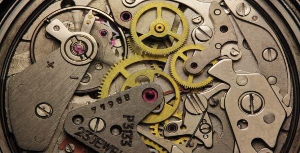 Watch Chronometer Mechanism 4