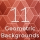11 Geometric Backgrounds - GraphicRiver Item for Sale