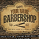 Barbershop Flyer Template Horizontal  - GraphicRiver Item for Sale