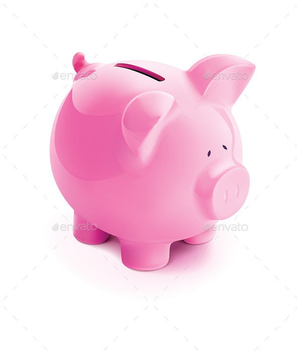 GraphicRiver Pig Bank 10329260