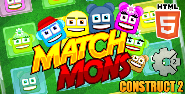 CodeCanyon Match Mons Puzzle Match Game 10329647