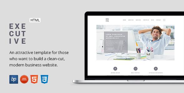 Executive - Responsive Business HTML5 Template