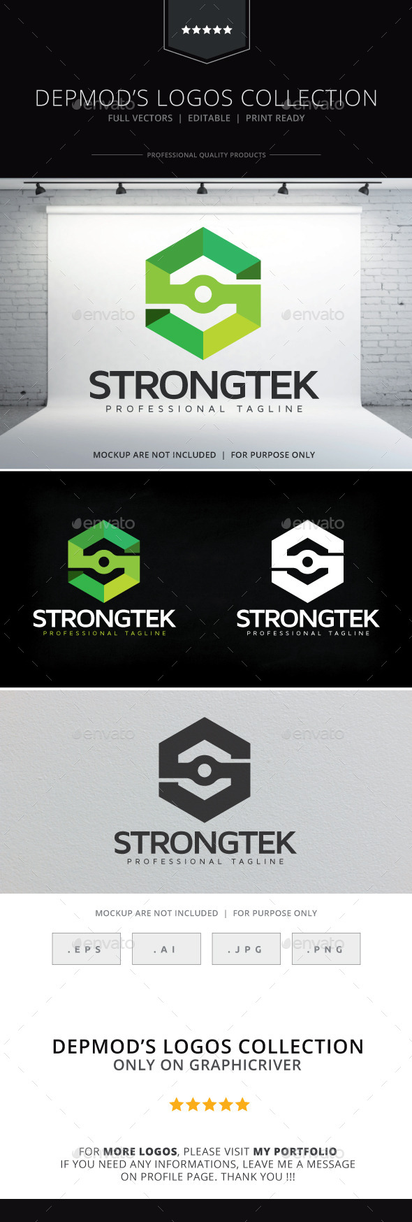 GraphicRiver Strongtek Logo 10330092