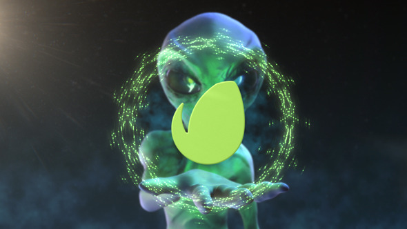 Alien Logo Intro