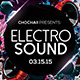 Electro Sound Flyer - GraphicRiver Item for Sale