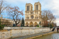 Cathedral of Notre Dame de Paris at Christmas - PhotoDune Item for Sale
