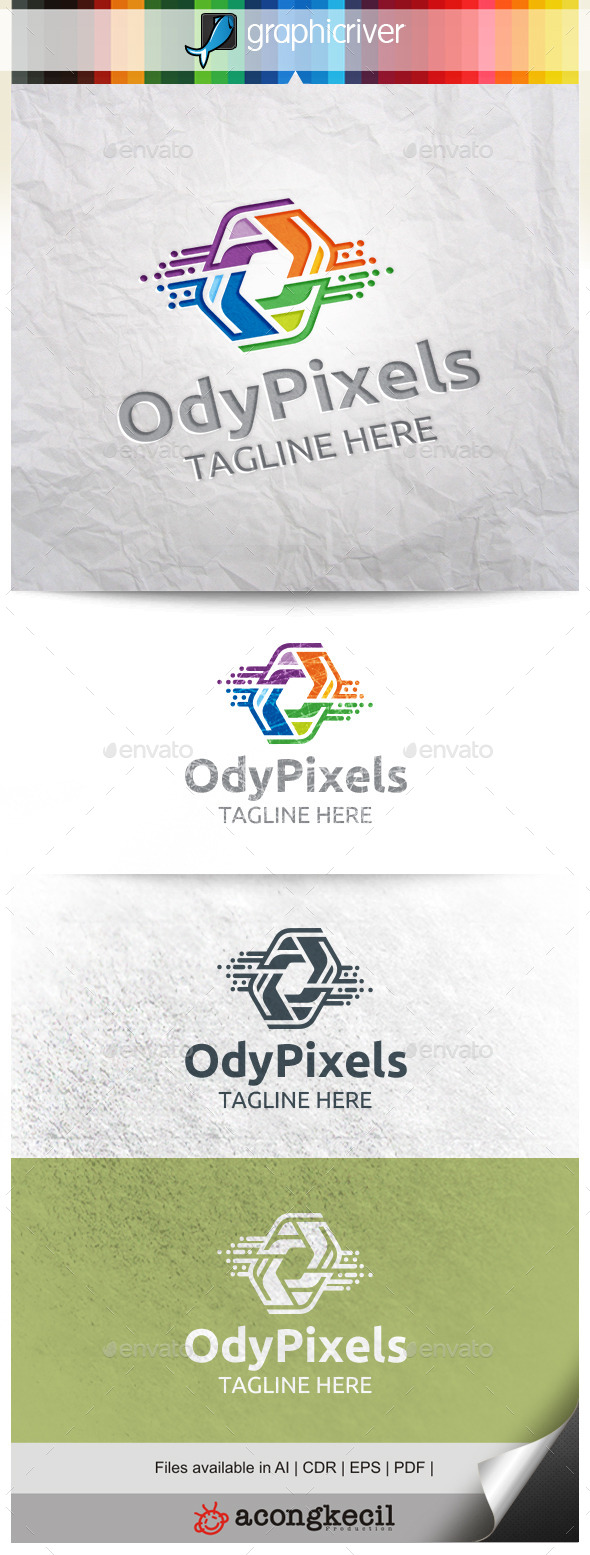 GraphicRiver Ody Pixels 10331459