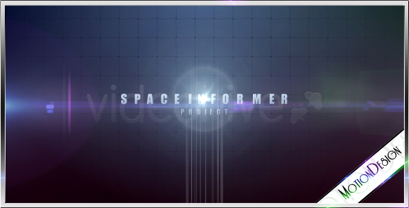 Space Informer Projectfile FullHD Cinematic