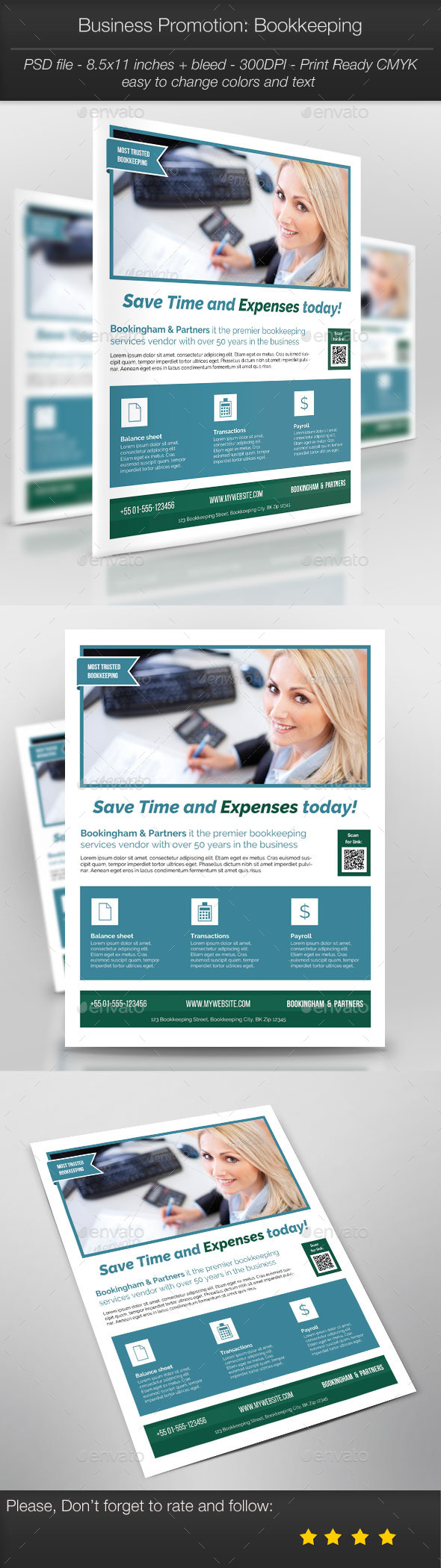 GraphicRiver Business Promotion Bookkeeping 10331587