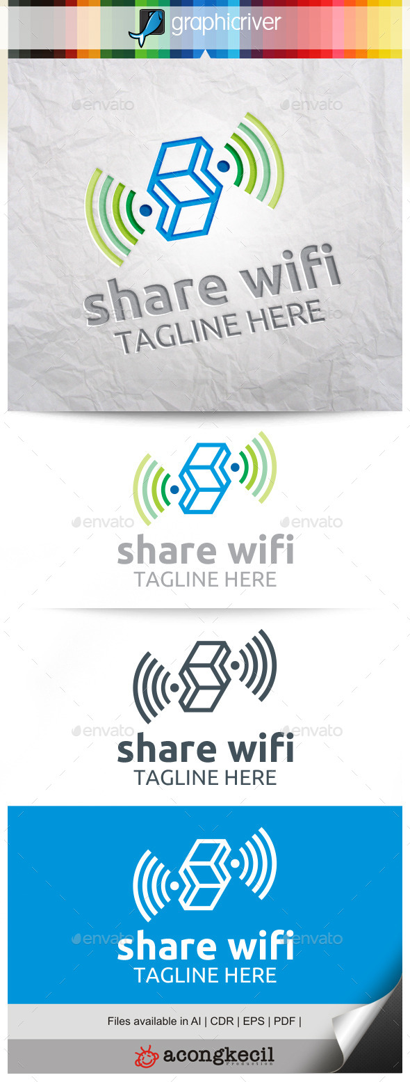 GraphicRiver Share Wifi 10332029