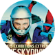 Skydiving Sports Flyer  - GraphicRiver Item for Sale