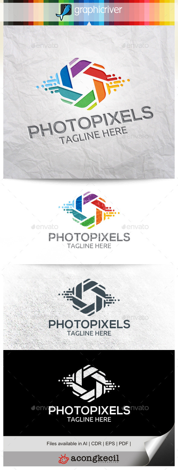 GraphicRiver Photo Pixles 10332500
