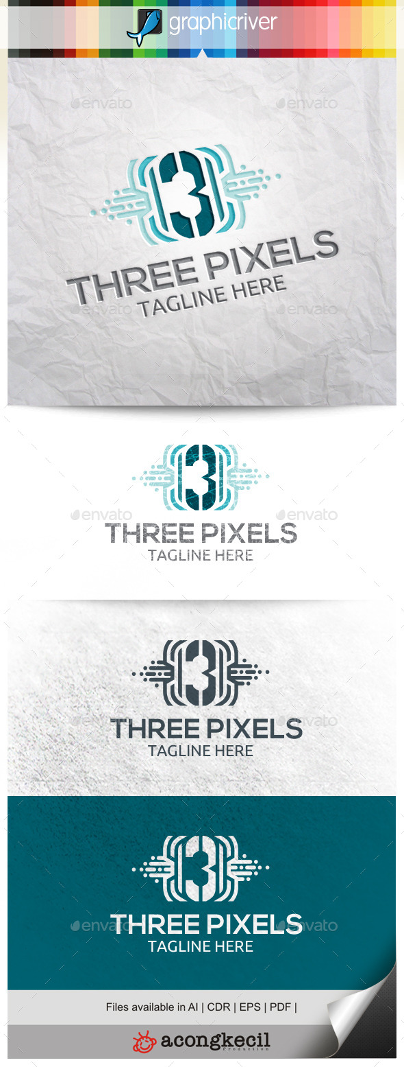 GraphicRiver Number Pixels 3 10332574