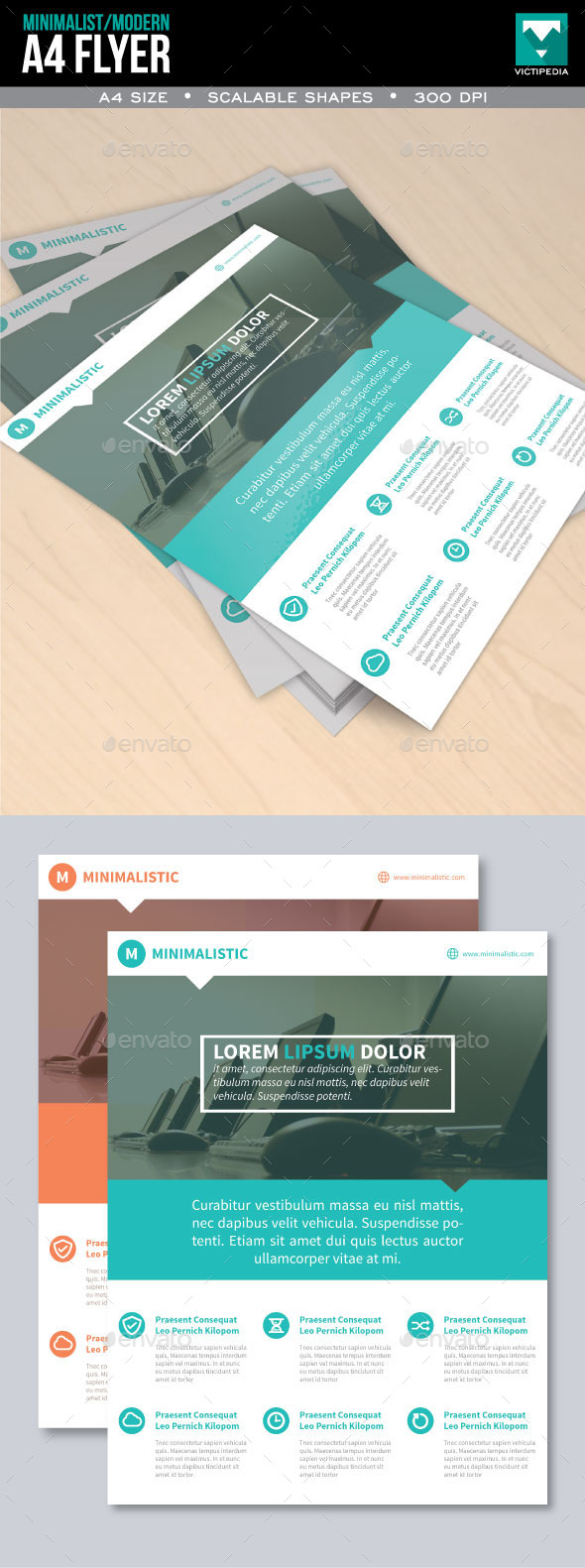 GraphicRiver Minimalist and Modern Flyer 10332899
