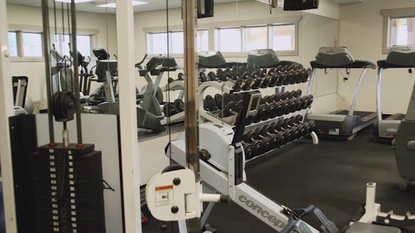 Inside A Gym Facility 3 Of 4