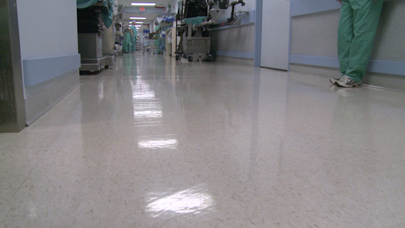 Medical Staff In Hospital Hallway 5 Of 5
