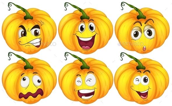 GraphicRiver Pumpkins 10333473