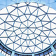 Structure of lattice of a dome over white - PhotoDune Item for Sale