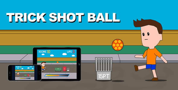 CodeCanyon Trick Shot Ball HTML5 Game 10333531