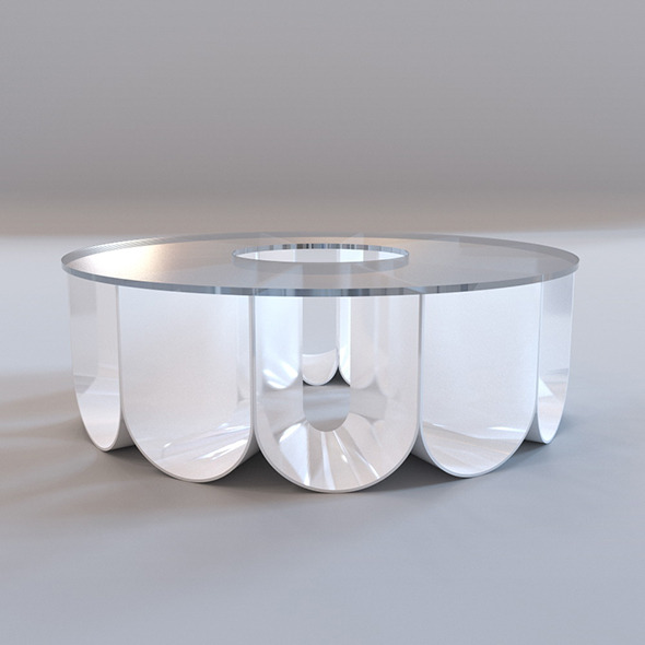 3DOcean Roche Bobois Iride coffee table 10333995