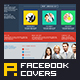 10 Clean Minimalist Corporate Facebook Covers - GraphicRiver Item for Sale