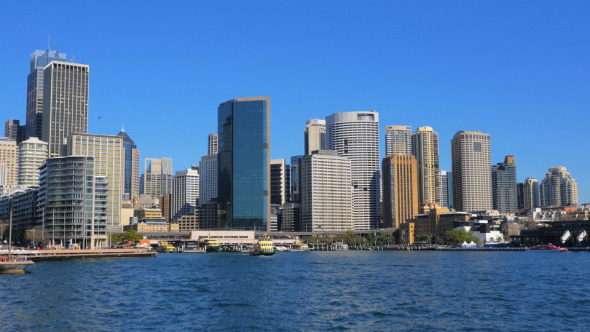 Sydney CBD and Circular Quay