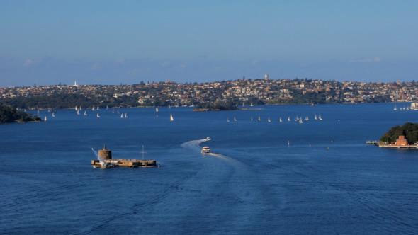 Regatta Sydney Harbour Fort Denison