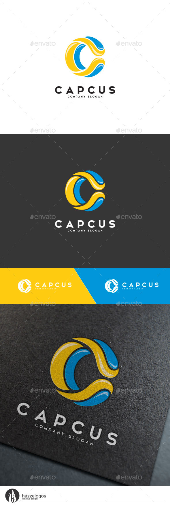 GraphicRiver Capcus Logo 10334851