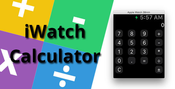 CodeCanyon iWatch Calculator in Swift 10283140