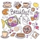 Breakfast Icons Set - GraphicRiver Item for Sale